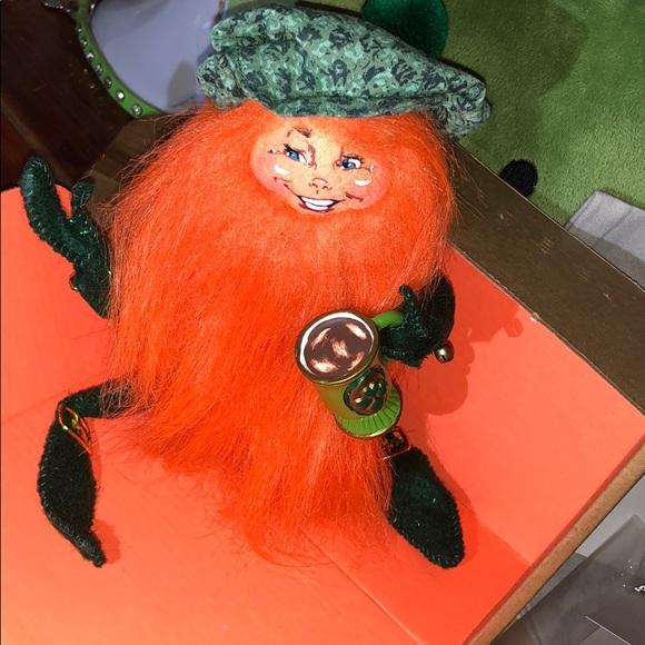 Annalee St Patrick's Irish Leprechaun Toast to